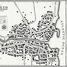 Innsmouth vintage map by TearsofEnvy