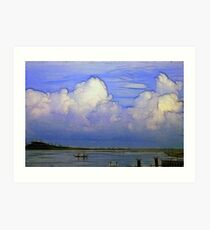 Summer Afternoon at the Point Art Print