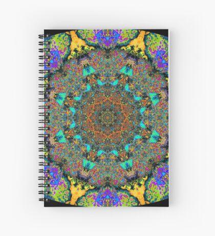 Barnie Paw Prints Kaleidescope 12 Spiral Notebook