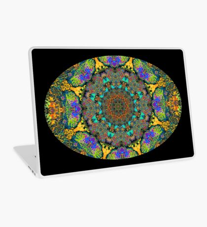 Barnie Paw Prints Kaleidescope 12 Laptop Skin