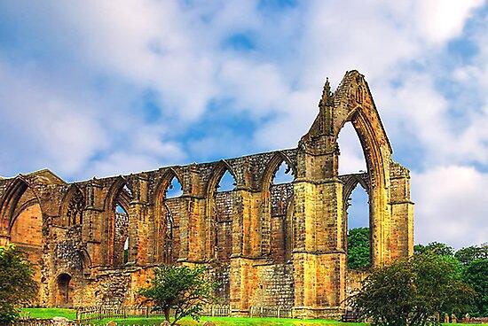 Bolton Abbey North Yorkshire by Trevor Kersley