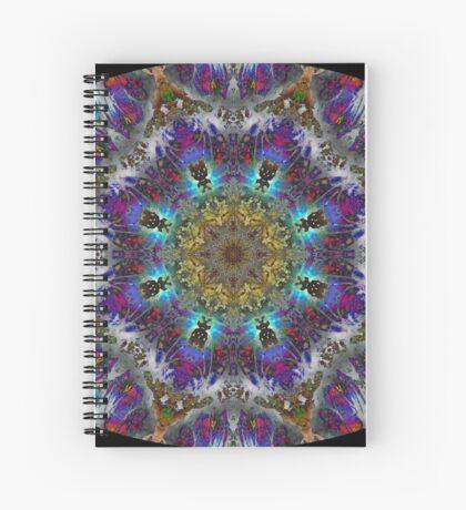 Barnie Paw Prints Kaleidescope 4 Spiral Notebook