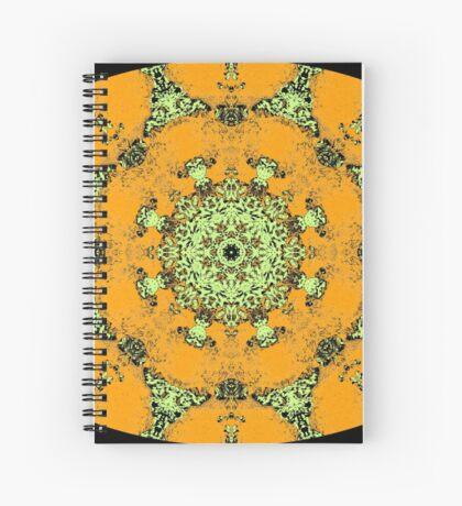 Barnie Paw Prints Kaleidescope 9 Spiral Notebook