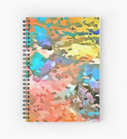 Paw Prints Pop Art Spiral Notebook