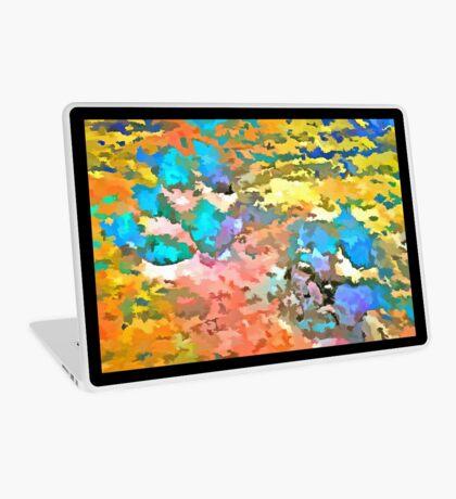 Paw Prints Pop Art Laptop Skin