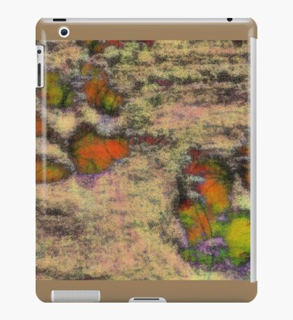 Paw Prints as Butterflies iPad Case/Skin