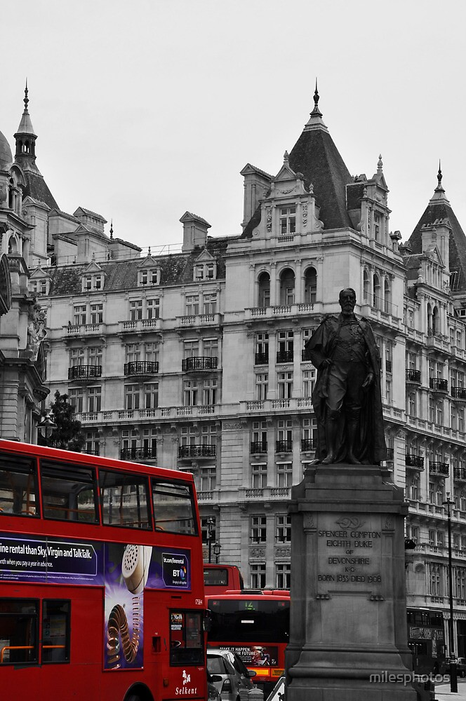 Red London Bus by milesphotos