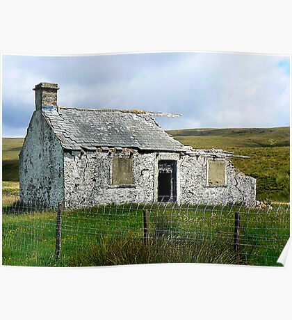 Ruin in the Dales Poster