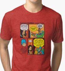 Chewin' The Fat - Captain RibMan Tri-blend T-Shirt