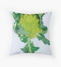 Brassica Oleracea  Throw Pillow