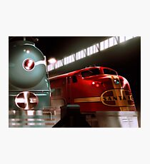 Santa Fe Streamliners Photographic Print