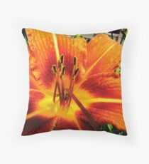 Day Lily For AndreaEL Throw Pillow