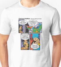 Ready, Willing & Cable - Captain RibMan Unisex T-Shirt