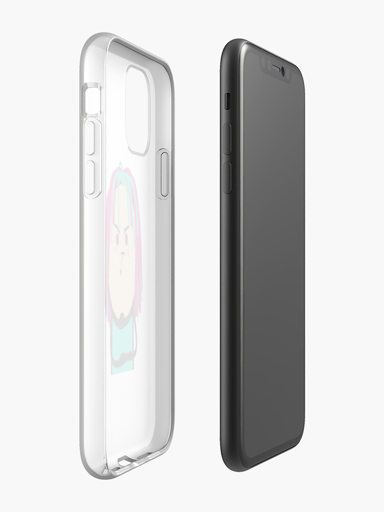 coque iphone avec cordon | Coque iPhone « Lil Pump Draw », par ModelZoo