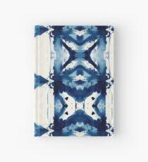 Cuaderno de tapa dura Indigo Acuarela Japonesa Shibori