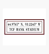 TCF Bank Stadium Photographic Print