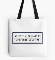 Memorial Stadium Tote Bag