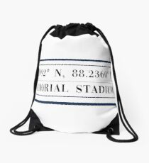 Memorial Stadium Drawstring Bag
