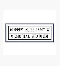 Memorial Stadium Photographic Print