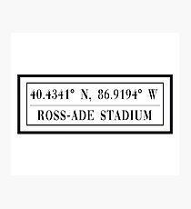 Ross-Ade Stadium Photographic Print