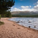 Loch Morlich and the Cairngorm Mountains by Mark Howells-Mead