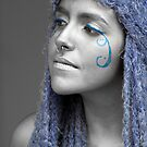 my river of tears turned blue by gompo