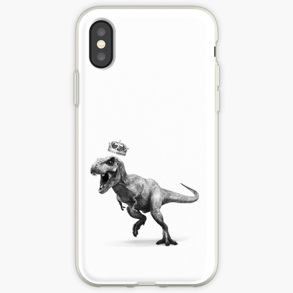T-Rex Crown Funda y vinilo para iPhone