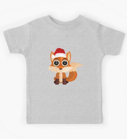 Christmas Fox (2) Kids Clothes