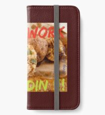 Will Work for Boudin  iPhone Wallet/Case/Skin