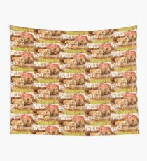 Will Work for Boudin  Wall Tapestry
