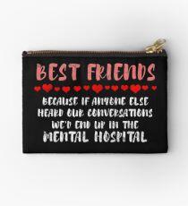 Beste Freunde Freundschaftsziele Täschchen