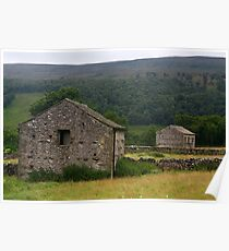 Barns by the Wharfe Poster