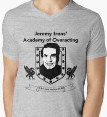 Jeremy Irons Academy Mens V-Neck T-Shirt