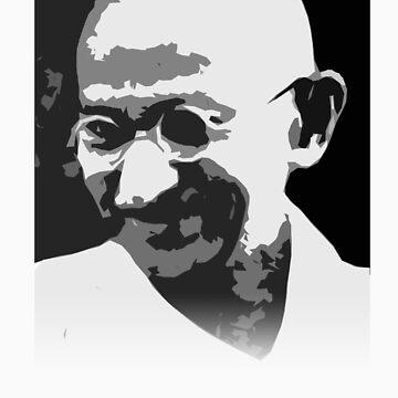 Gandhi by solankill
