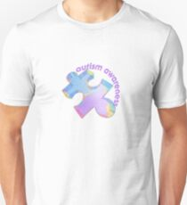 Autism awareness pastel puzzle piece T-Shirt