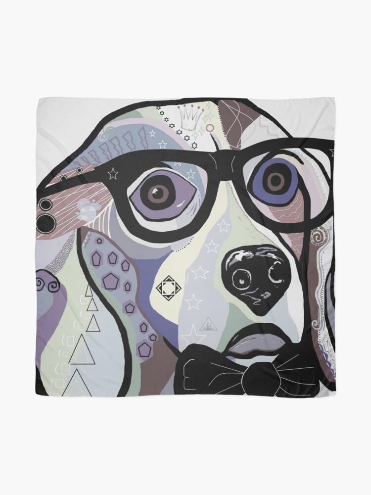 Alternate view of Sophisticated Beagle Denim Scarf