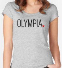 Olympia, WA | Washington Tailliertes Rundhals-Shirt