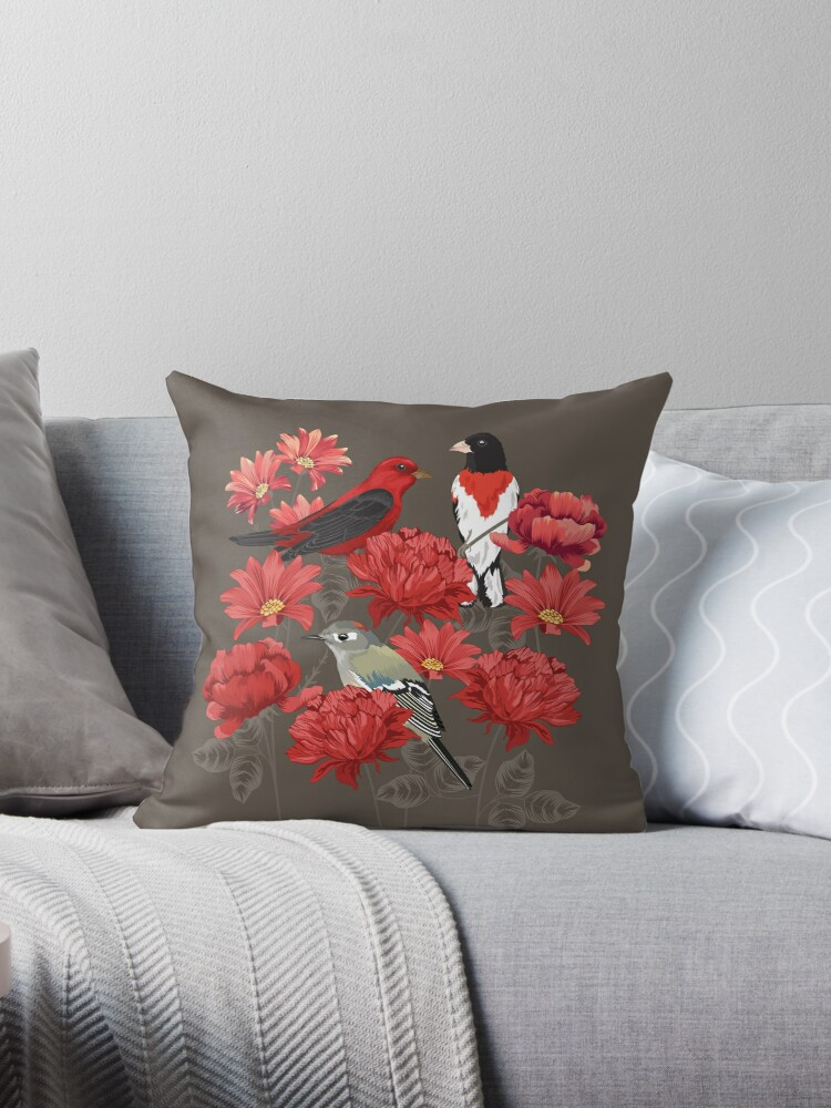 Birds and Roses by Judit Gueth