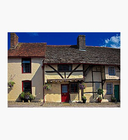 Village Tudors Photographic Print
