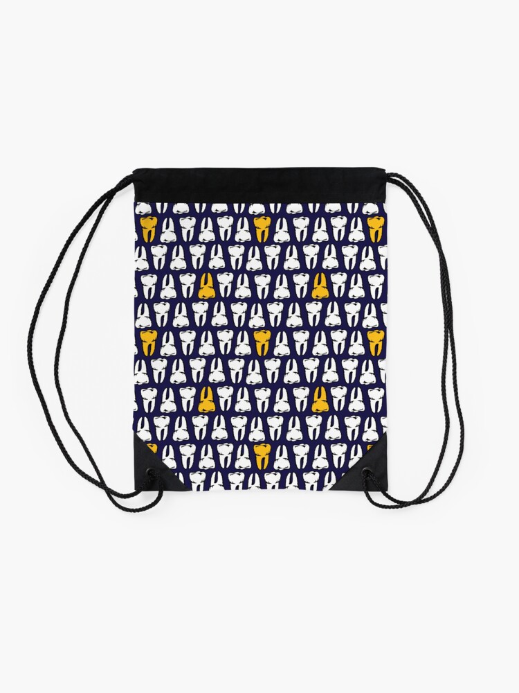 Alternate view of Gold Tooth Drawstring Bag
