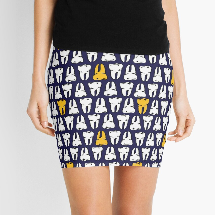 Gold Tooth Mini Skirt