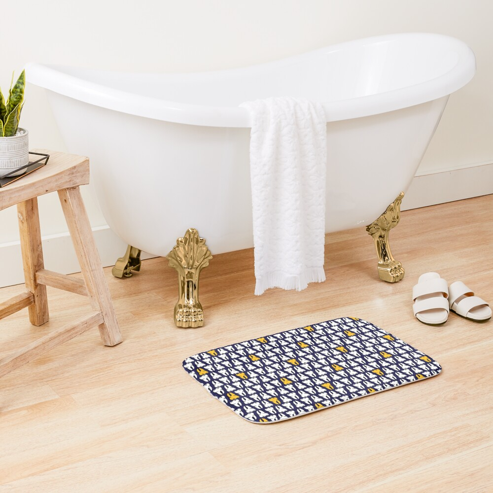 Gold Tooth Bath Mat