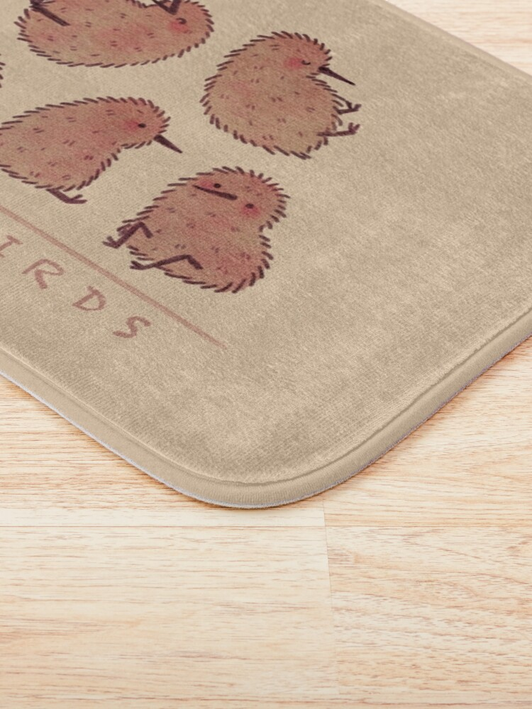 Alternate view of Cute Kiwi Birds 2 Bath Mat