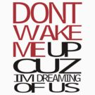 DONT WAKE ME UP CUZ IM DREAMING OF LOVE by brandon robinson