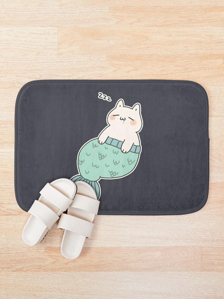Alternate view of Sleeping Catfish Bath Mat