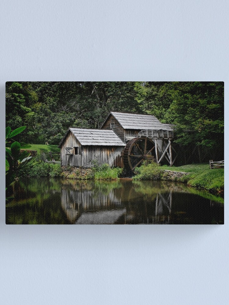 Alternate view of Mabry Mill Canvas Print