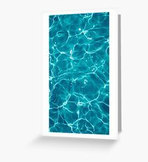 Water - Elements Greeting Card