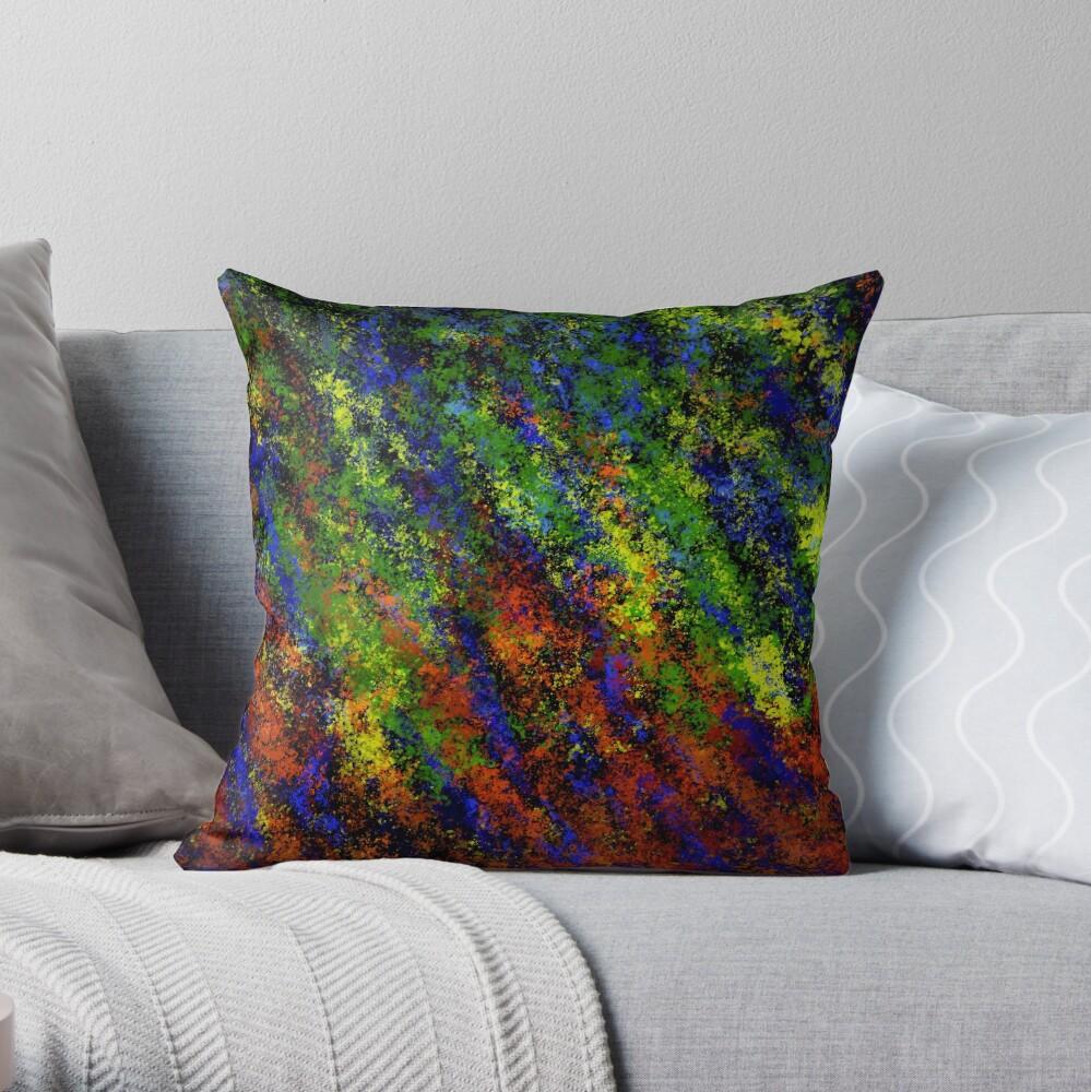 Multi-Colour Opal Throw Pillow
