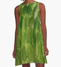 Leaves - Nature A-Line Dress