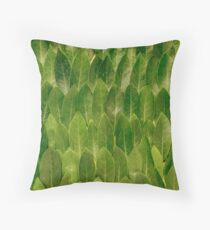 Leaves - Nature Throw Pillow